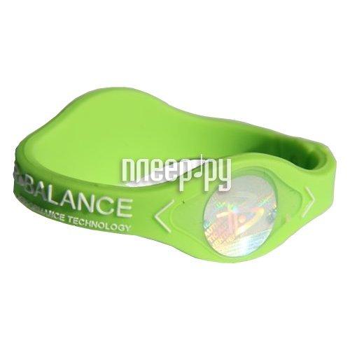Браслет POWER BALANCE XS Neon White Hologram Green/White