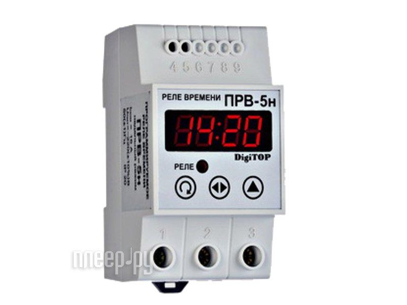 Терморегулятор Digitop ПРВ-5н - программируемое реле  Pleer.ru  2261.000