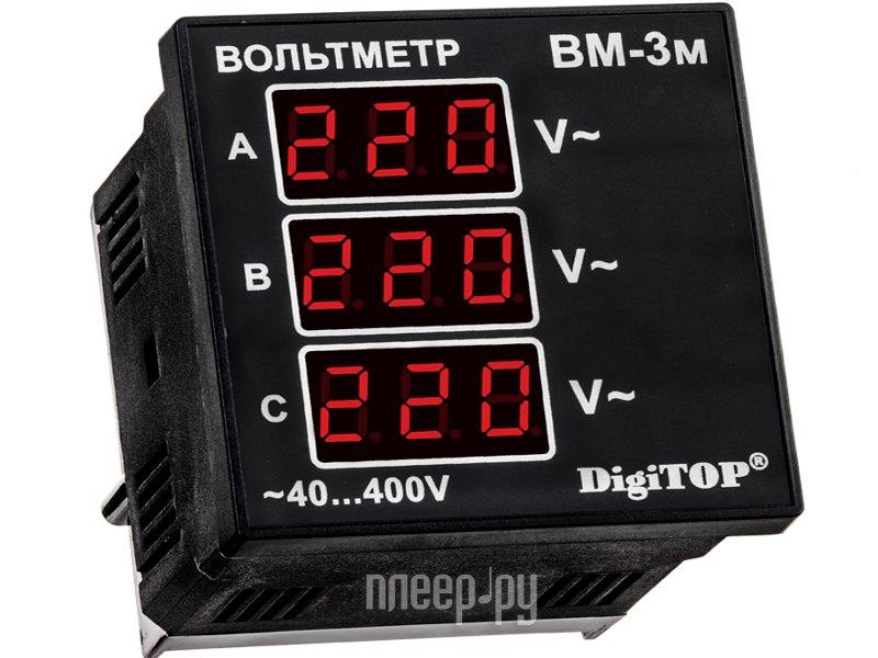 Вольтметр Digitop Вм-3м  Pleer.ru  1513.000