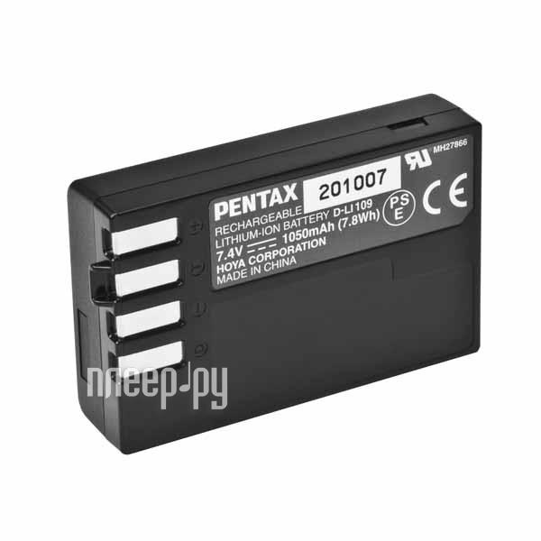 Аккумулятор Pentax D-Li109  Pleer.ru  2760.000
