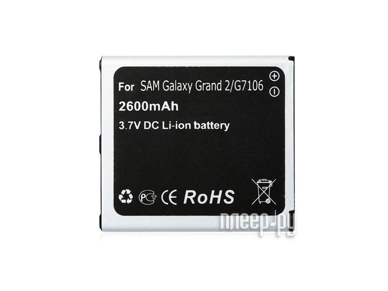 Аксессуар Аккумулятор Samsung SM-G7106 Galaxy Grand 2 Ainy 2600mAh  Pleer.ru  781.000