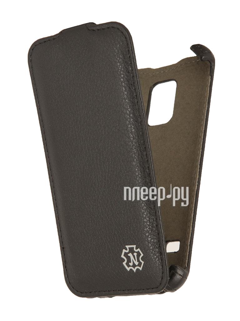 Аксессуар Чехол Samsung SM-G800 Galaxy S5 mini Time Norton Black  Pleer.ru  1020.000