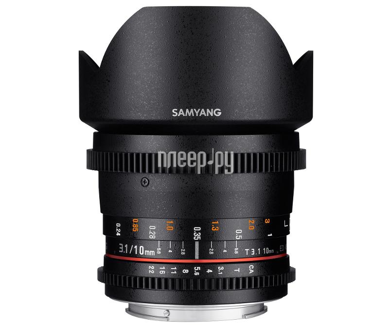 Объектив Samyang Canon MF 10 mm T3.1 ED AS NCS CS VDSLR
