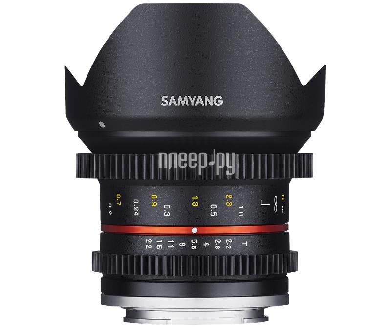 Объектив Samyang MF 12 mm T2.2 NCS CS CINE for Micro 4/3  Pleer.ru  16598.000