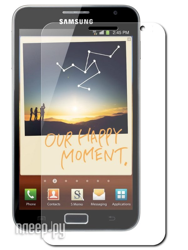 Аксессуар Защитная пленка Samsung GT-N7000 Galaxy Note KS-is глянцевая  Pleer.ru  519.000