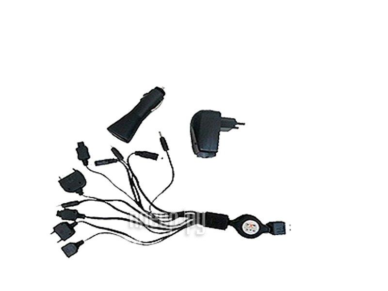 Зарядное устройство WIIIX CS008 автомобильное + сетевое , универсальное  Pleer.ru  680.000