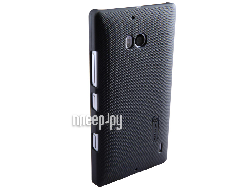 Аксессуар Чехол-накладка Nokia Lumia 930 Nillkin Super Frosted Shield Black T-N-NL930-002  Pleer.ru  1100.000