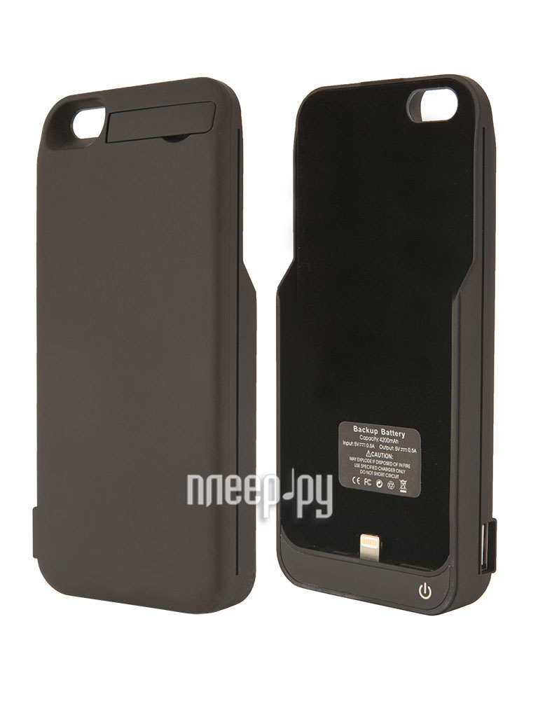Аккумулятор Aksberry 5GB for iPhone 5 / 5S 4200 mA Black  Pleer.ru  1590.000