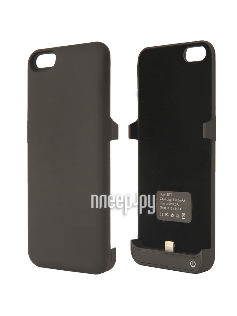 Аккумулятор Aksberry 5GT for iPhone 5 / 5S 2400 mA Black  Pleer.ru  1450.000