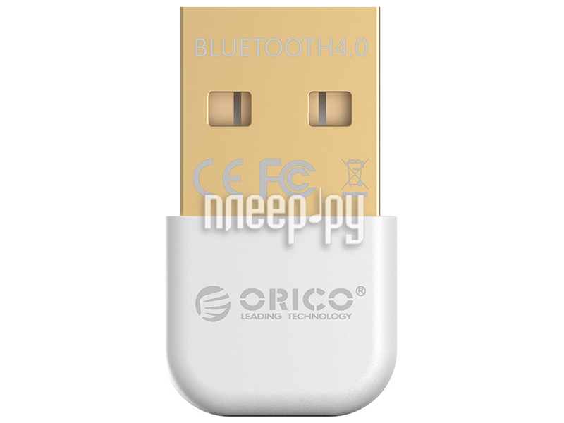 Bluetooth передатчик Orico BTA-403 White  Pleer.ru  649.000