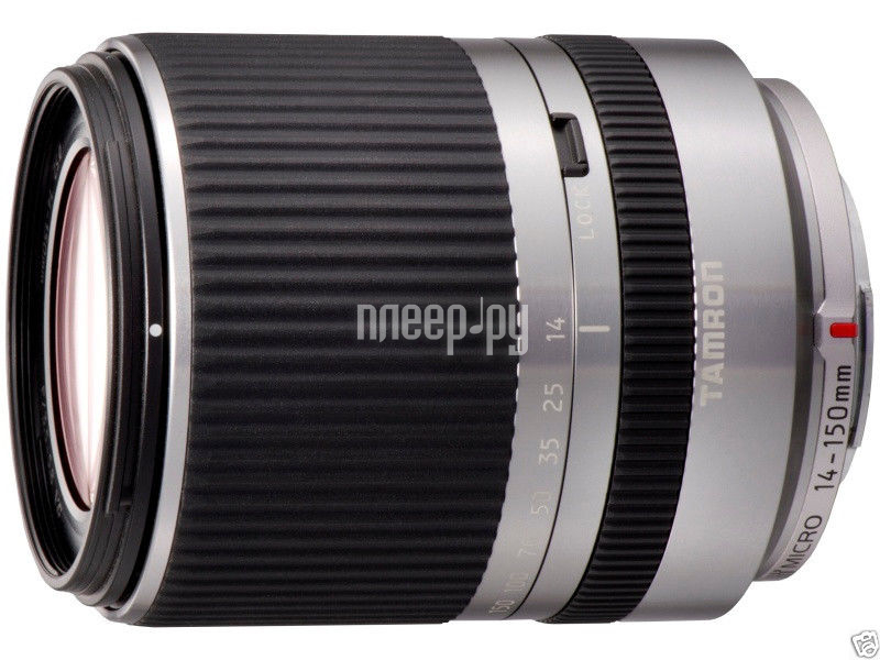 Объектив Tamron AF 14-150 mm F/3.5-5.8 Di III Micro Four Thirds Silver  Pleer.ru  20257.000