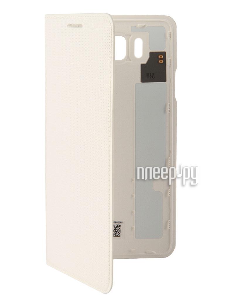 Аксессуар Чехол Samsung SM-G850 Galaxy Alpha Flip Cover White EF-FG850BWEGRU  Pleer.ru  1806.000