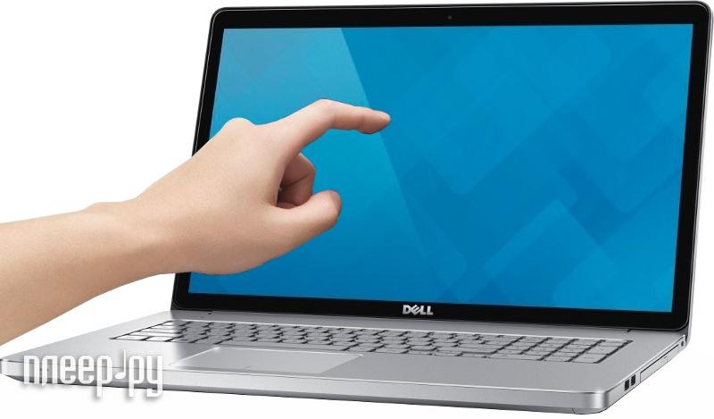 Ноутбук Dell Inspiron 7737 7737-3180 Intel Core i7-4510U 2.0 GHz/16384Mb/1000Gb + 8Gb SSD/DVD-RW/nVidia GeForce GT 750M 2048Mb/Wi-Fi/Bluetooth/Cam/17.3/1920x1080/Touchscreen/Windows 8.1 64-bit  Pleer.ru  43753.000