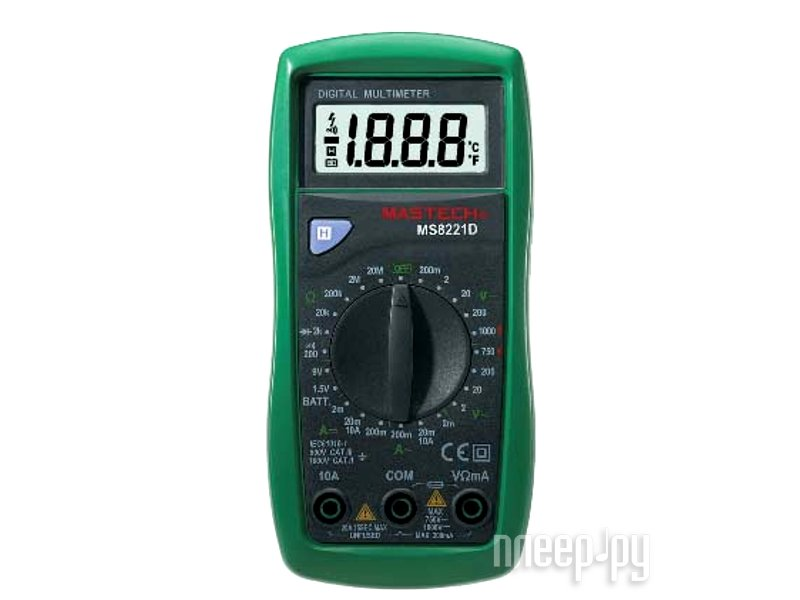 Мультиметр Mastech MS8221D  Pleer.ru  477.000