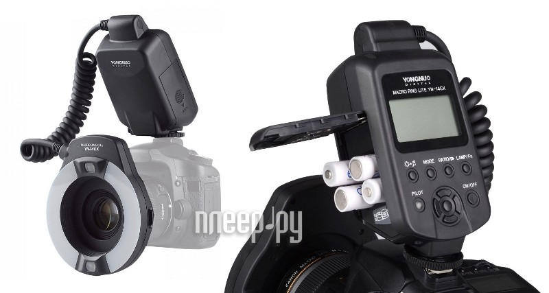 Вспышка YongNuo YN-14EX Macro Flash TTL for Canon  Pleer.ru  4804.000