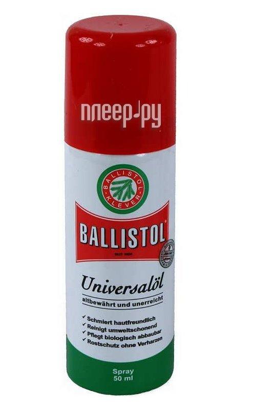 Аксессуар Ballistol 50мл спрей масло оружейное 21460  Pleer.ru  344.000