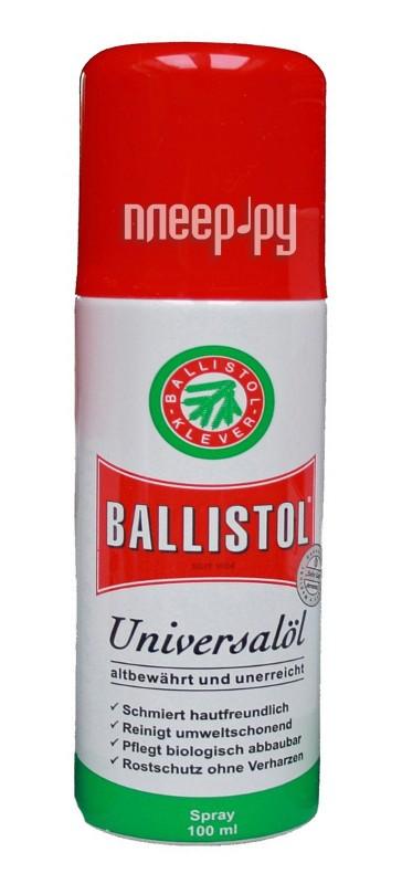 Аксессуар Ballistol 100мл спрей масло оружейное  Pleer.ru  411.000