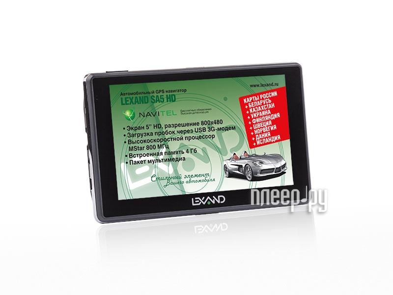 Навигатор Lexand SA5 HD+ Навител Навигатор  Pleer.ru  2748.000