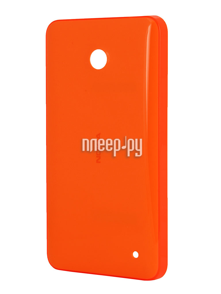 Аксессуар Клип-кейс Nokia Lumia 630 Shell CC-3079 Orange  Pleer.ru  1030.000