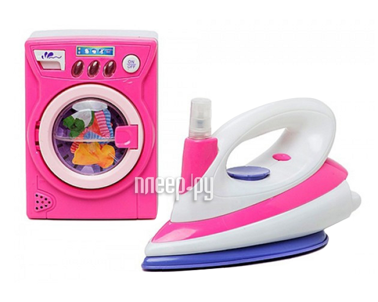 Shantou Gepai Набор утюг и стиральная машина 66025  Pleer.ru  474.000