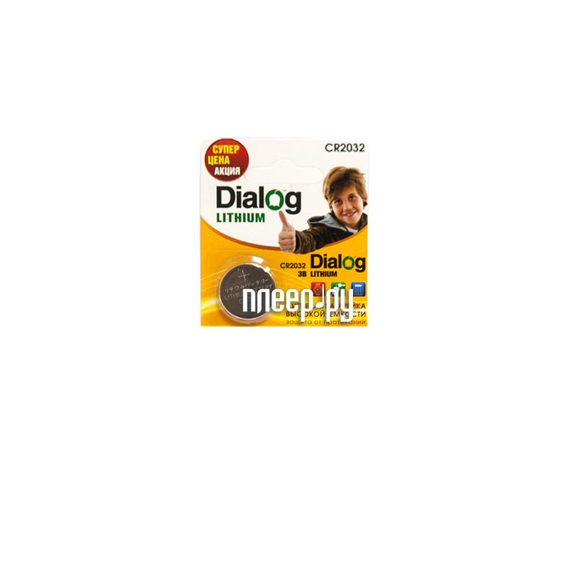 Батарейка CR2032 - Dialog CR2032-5B / CR2032 3V (1 штука)