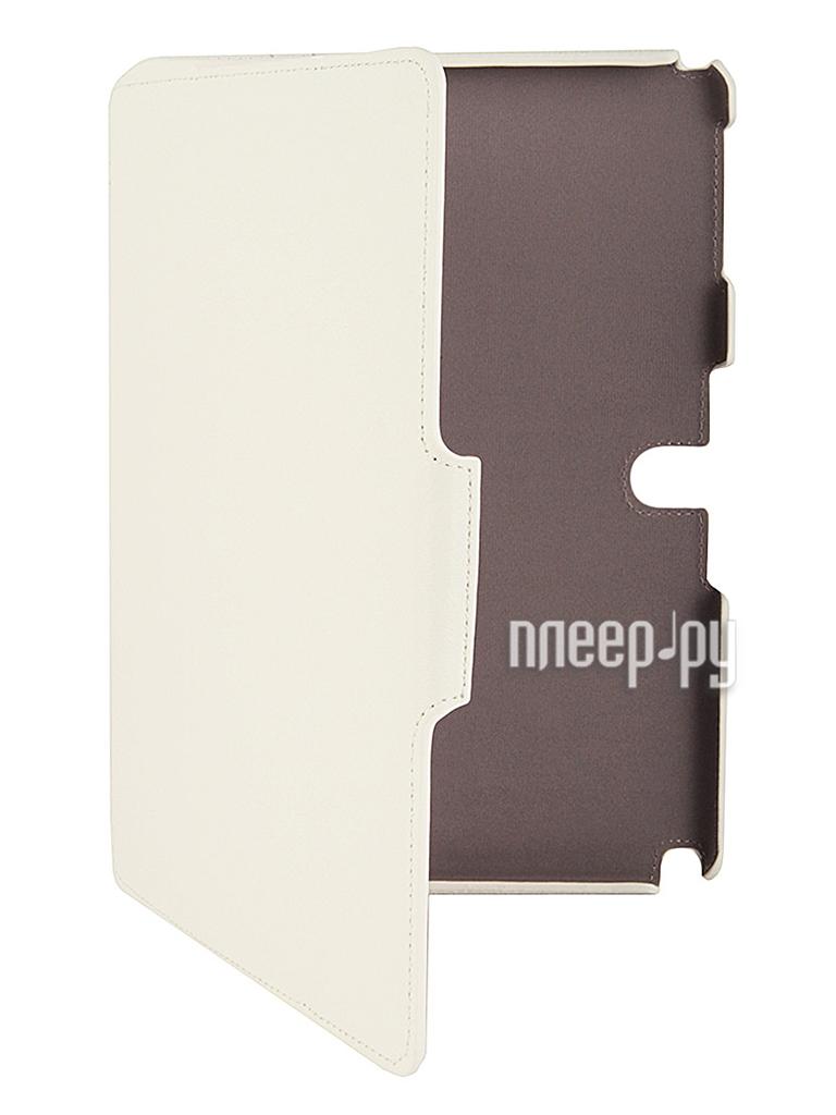 Аксессуар Чехол Samsung Tab Pro 10.1 SM-T520/T525 Armor Air Lychee Slim White  Pleer.ru  897.000