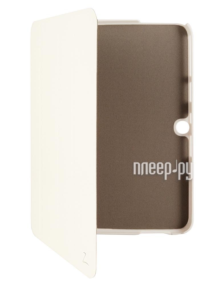 Аксессуар Чехол Galaxy Tab 3 10.1 P5200/P5210 LaZarr Second Skin White  Pleer.ru  769.000