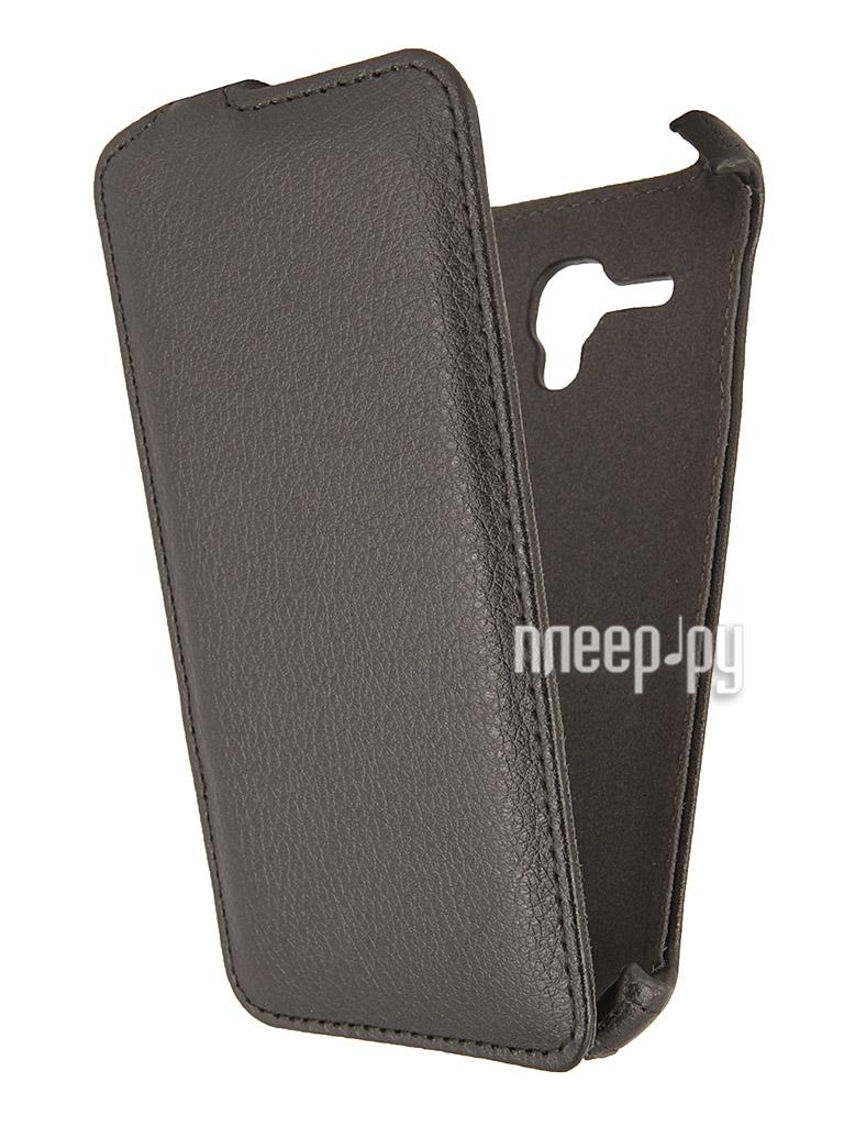 Аксессуар Чехол Alcatel OneTouch POP D5 iBox Premium Black  Pleer.ru  1109.000