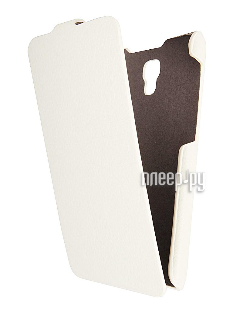 Аксессуар Чехол Explay Vega iBox Premium White  Pleer.ru  1109.000