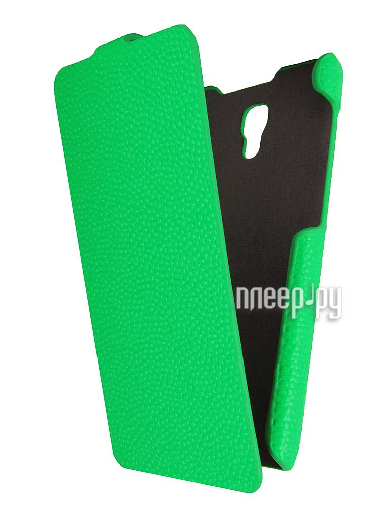 Аксессуар Чехол Explay Vega iBox Premium Green  Pleer.ru  1109.000