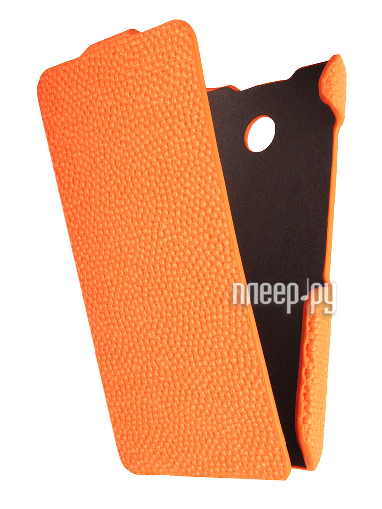 Аксессуар Чехол Nokia Lumia 630 / 635 iBox Premium Orange  Pleer.ru  1109.000