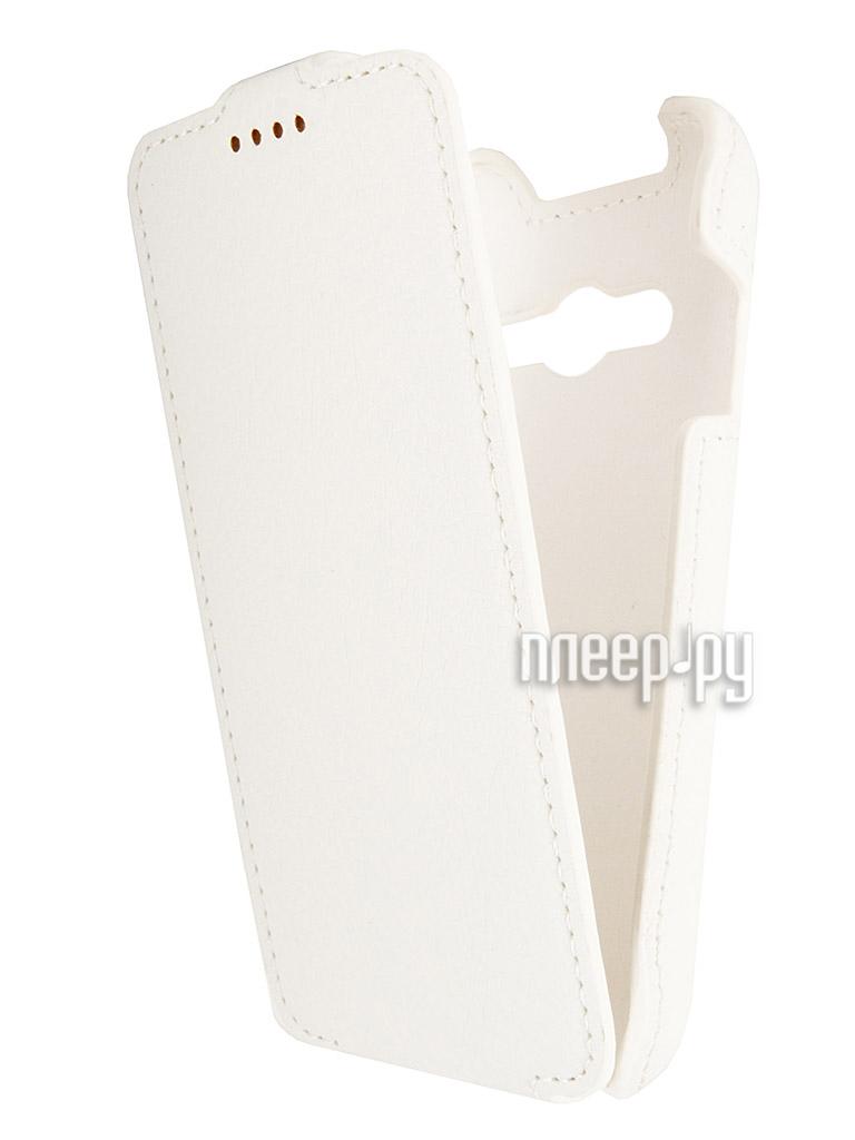 Аксессуар Чехол Samsung SM-G313 Galaxy Ace 4 iBox Premium White  Pleer.ru  1109.000
