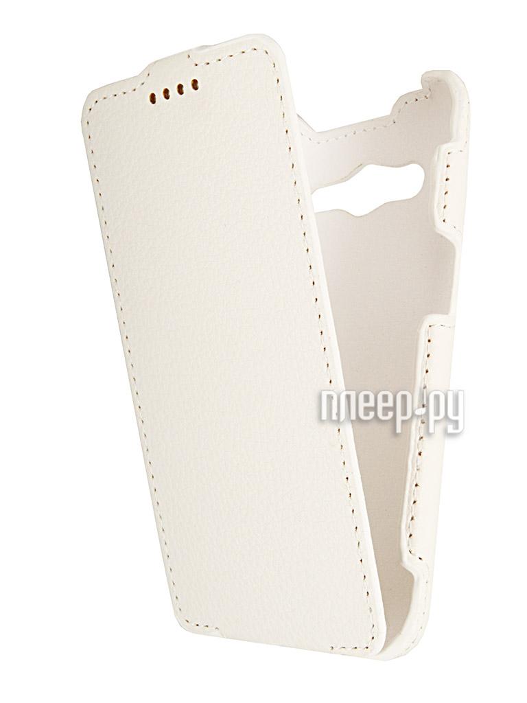 Аксессуар Чехол Samsung SM-G355 Galaxy Core 2 iBox Premium White  Pleer.ru  1109.000