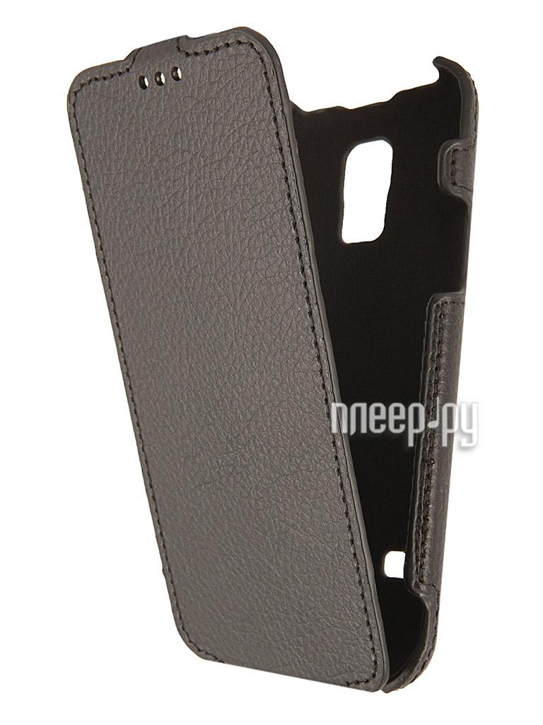 Аксессуар Чехол Samsung SM-G800 Galaxy S5 mini iBox Premium Black  Pleer.ru  1109.000