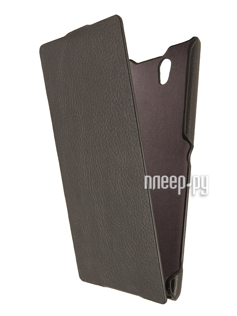 Аксессуар Чехол Sony Xperia C3 iBox Premium Black  Pleer.ru  1109.000