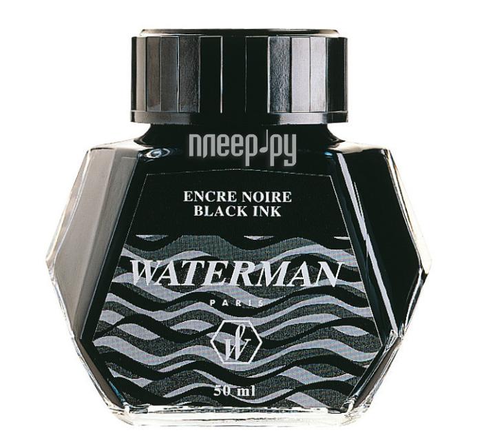 Waterman Black S0110710 - Флакон с чернилами  Pleer.ru  418.000