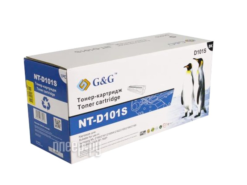 Картридж G&G NT-D101S for Samsung ML-2160 / 2161 / 2162 / 2165 / 2166 / 2168 / SCX-3400 / 3405
