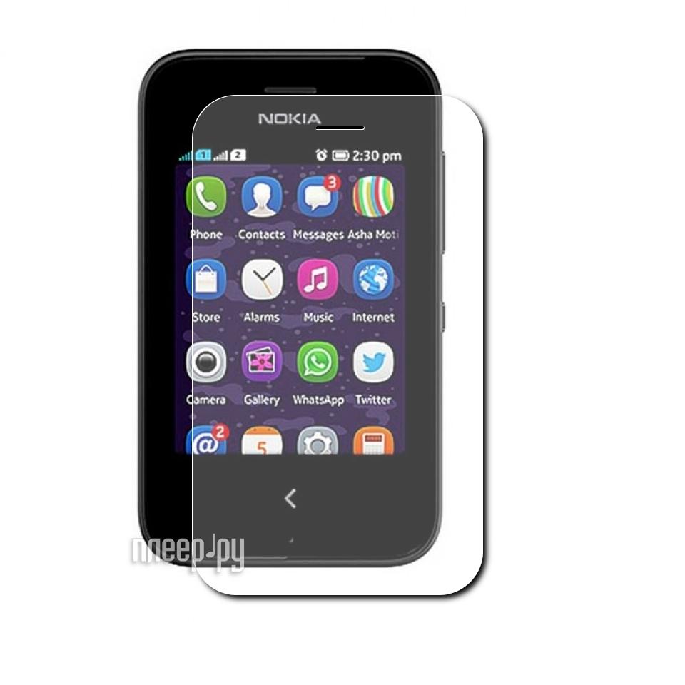 Аксессуар Защитная пленка LuxCase for Nokia Asha 230/230 Dual Суперпрозрачная 80464  Pleer.ru  554.000