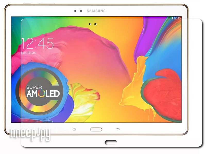 Аксессуар Защитная пленка Samsung SM-T800 Galaxy Tab S 10.5 LuxCase Суперпрозрачная 80856  Pleer.ru  619.000