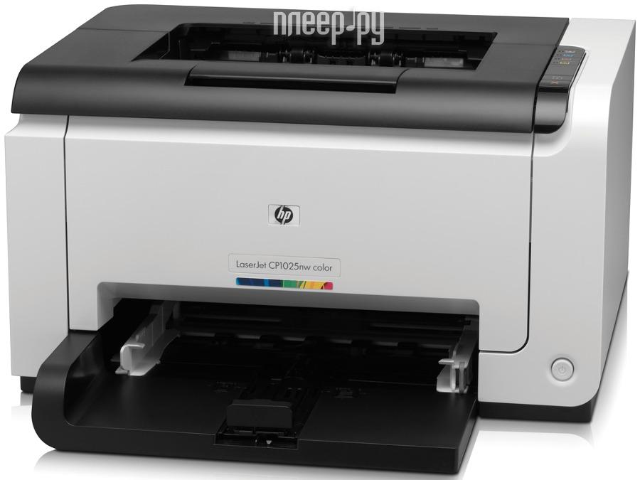 Принтер HP Color LaserJet Pro 1025  Pleer.ru  4638.000