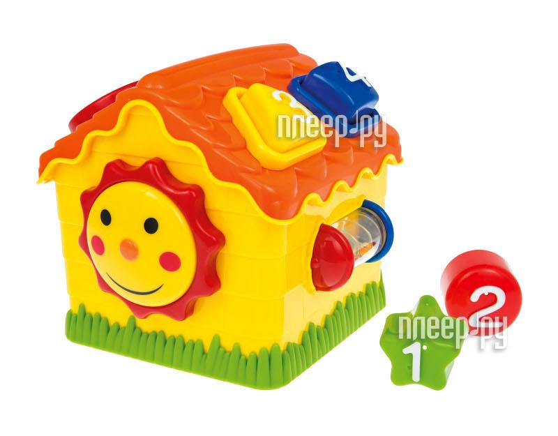 Сортер Clementoni Сортировочный домик разноцветные формочки 60328  Pleer.ru  587.000