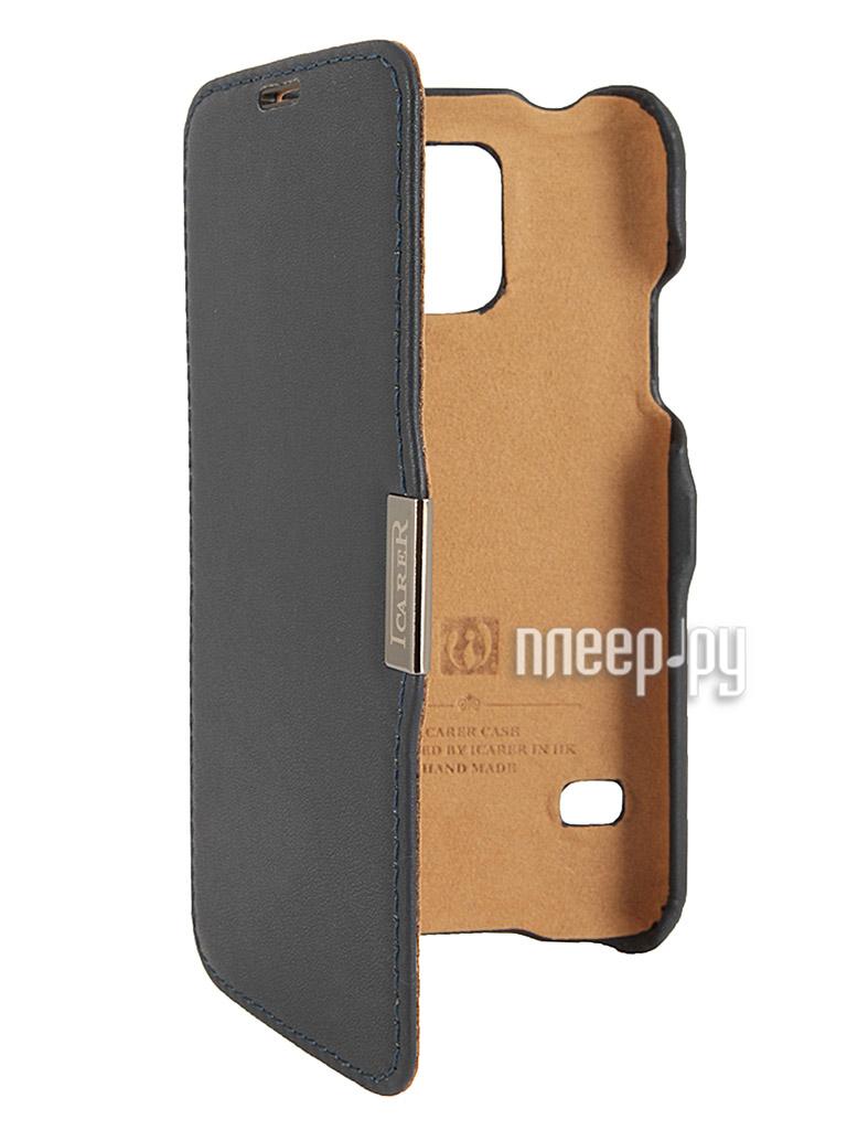 Аксессуар Чехол I-Carer for Samsung G900F / G900H Galaxy S5  Pleer.ru  1340.000