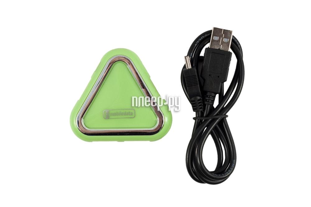 Хаб USB Mobiledata UH-640 USB 4 ports  Pleer.ru  535.000