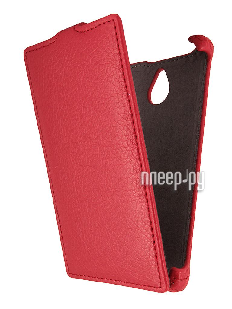 Аксессуар Чехол Nokia X2 Dual Sim Gecko Red  Pleer.ru  1001.000