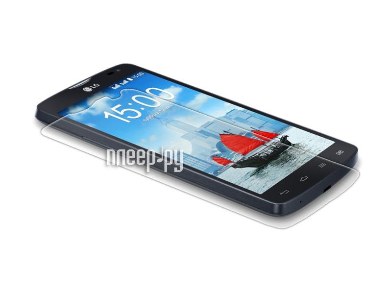 Аксессуар Защитная пленка LG L80 Media Gadget Premium прозрачная MG885