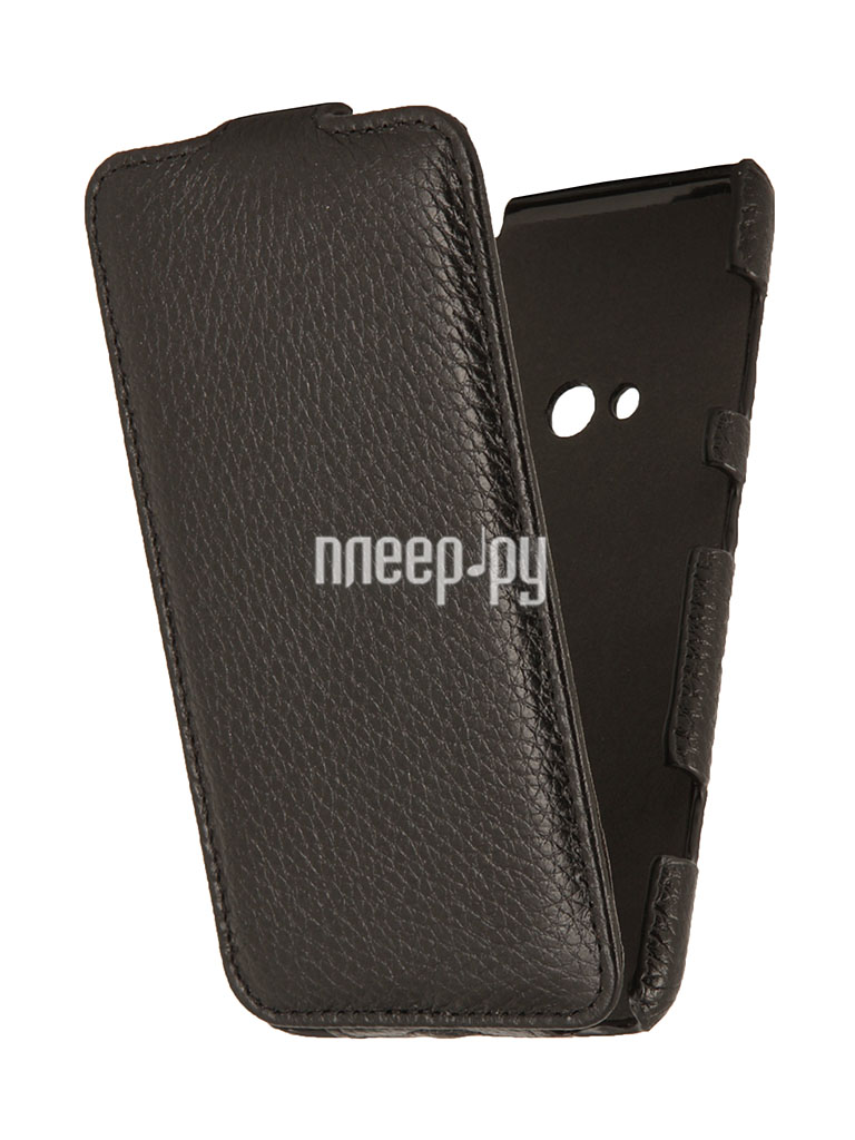 Аксессуар Чехол Shell for Nokia Lumia 625 Clever Case Leather тисненая  Pleer.ru  1087.000