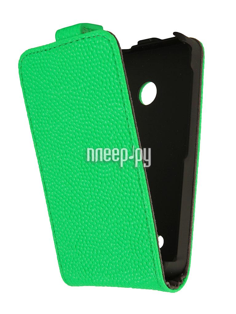 Аксессуар Чехол Nokia Lumia 530 iBox Classic Green  Pleer.ru  938.000