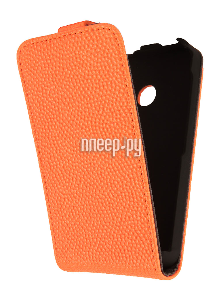Аксессуар Чехол Nokia Lumia 530 iBox Classic Orange  Pleer.ru  938.000