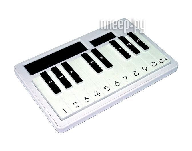 Калькулятор Эврика CBS001-004A20 пианино White 93138  Pleer.ru  180.000