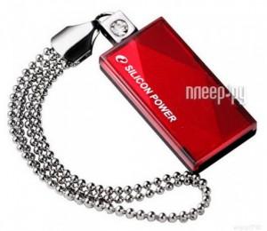 USB Flash Drive 16Gb - Silicon Power Touch 810 SP016GBUF2810V1R Red  - купить со скидкой